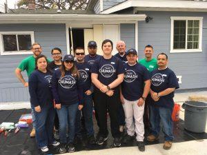 Habitat Santa Barbara Home Repair Chumash Volunteers