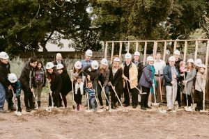 Habitat for Humanity - Groundbreaking Apr 2017 - Families & Board (2)