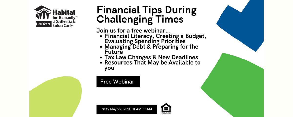 Financial Tips Webinar